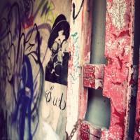 Graffitied Gateway